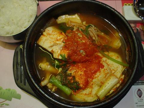 海鮮豆腐チゲ