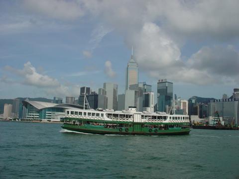 香港のスターフェリー